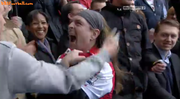 arsenal bully supporter 600x330 Is This Man the Number One Arsenal Supporter Out There? Watch NBCs I Was There [VIDEO]