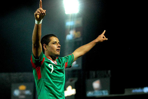 chicharito Mexico Coach Miguel Herrera Names Starting XI Against Cameroon; Chicharito Dropped to Bench
