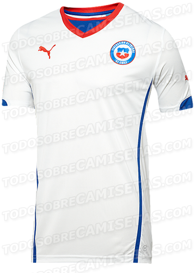 chile away shirt world cup Leaked Photos of World Cup Shirts That The 32 Teams Will Wear In Brazil