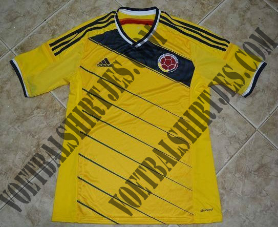 colombia home shirt world cup Is This Colombias Home Shirt For World Cup 2014? [PHOTO]