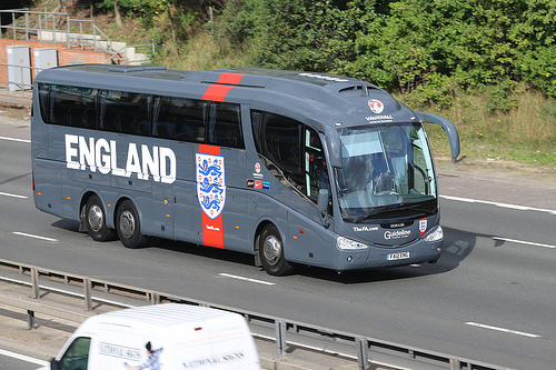 england bus Why Its Time For England To Accept Change And Begin Naturalizing Footballers