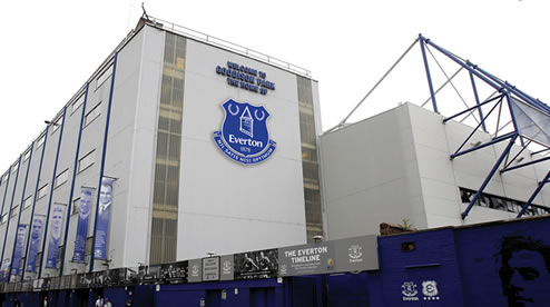 everton new crest goodison Dan Gosling Departs For Pastures New