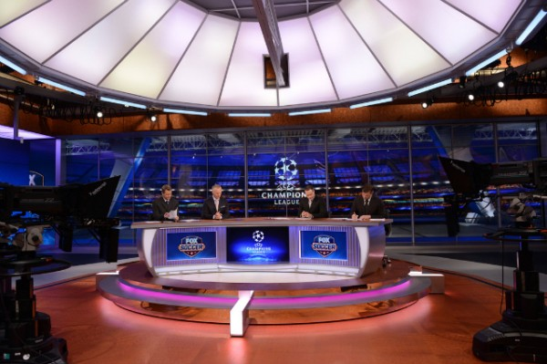 fox soccer studio set 600x399 FSC Unveils World Cup Preview Show