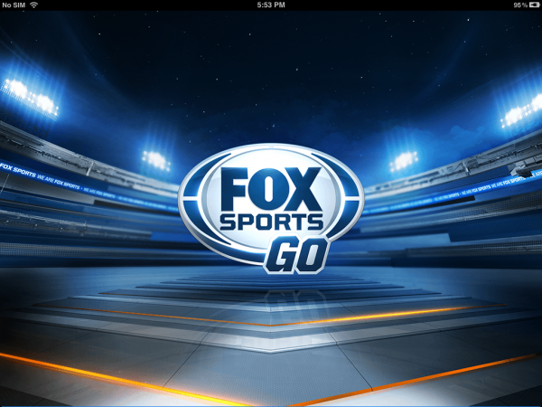 fox sports go app 600x450 FOX Launches FOX Sports GO App For iPad and iPhone; Features Live Champions League Games