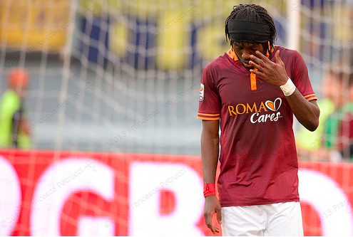 gervinho Ex Arsenal Striker Gervinho's Good Form at Roma is Down to Regained Confidence