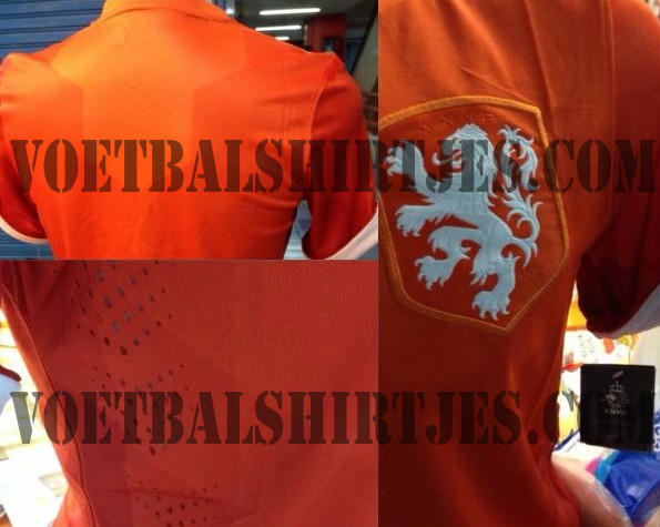 holland world cup 2014 shirt Holland Home Shirt For World Cup 2014 Revealed: Leaked [PHOTOS]