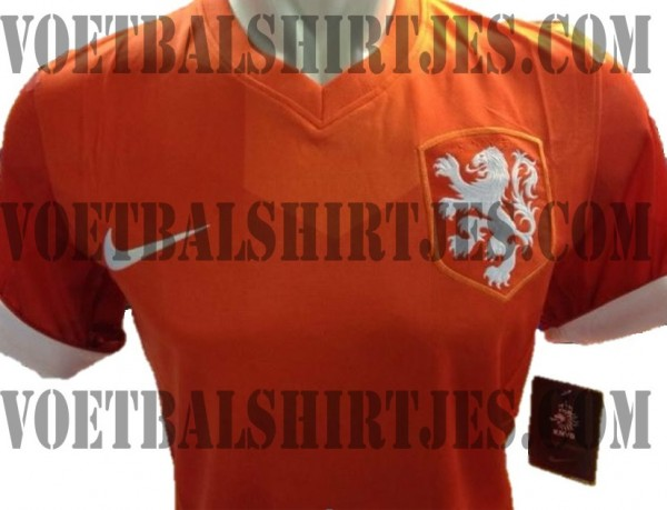 holland world cup shirt 600x459 Holland Home Shirt For World Cup 2014 Revealed: Leaked [PHOTOS]
