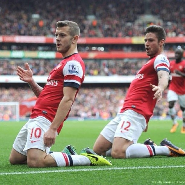 just like that Watch Jack Wilsheres Sensational Goal for Arsenal Against Norwich [VIDEO]