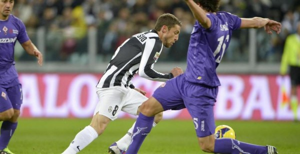 juventus fiorentina marchisio 600x309 Fiorentina vs Juventus, Live on beIN SPORT Espanol and DishWorld at 9am ET: Open Thread