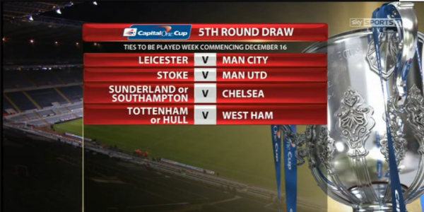 league cup 5th round draw 600x300 Draw Announced for Capital One Cup Quarter Final Matches