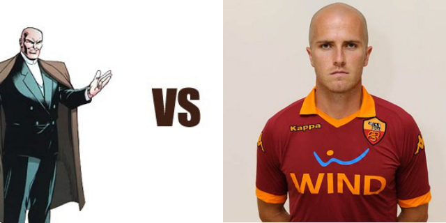 michael bradley lex luthor Italian Commentator Celebrates Michael Bradleys AS Roma Goal, Calls Him Lex Luthor [AUDIO]