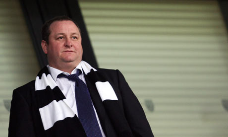 Harry Redknapp Praises Mike Ashley Reign at Newcastle United