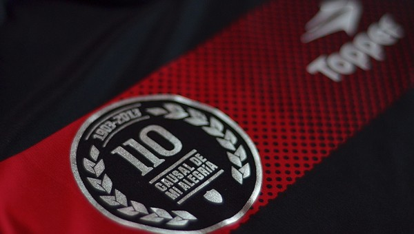 newells old boys 110 year anniversary 600x340 Newells Old Boys 110 Year Anniversary Shirt, 2013/14 [PHOTOS]