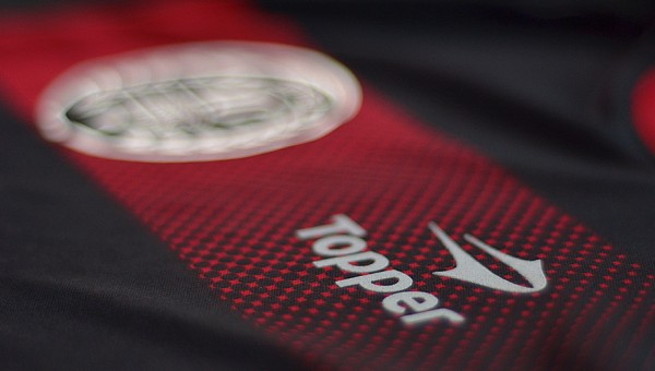 newells old boys shirt logo 600x340 Newells Old Boys 110 Year Anniversary Shirt, 2013/14 [PHOTOS]