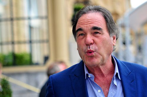 oliver stone Oliver Stone Stars In World Cup Commercial With David Luiz, Kun Aguero & Radamel Falcao [VIDEO]