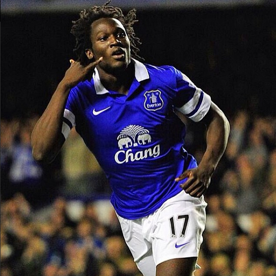 "romelu lukaku Romelu Lukaku: ""I Want to Score More Goals Than The Strikers of Chelsea"""