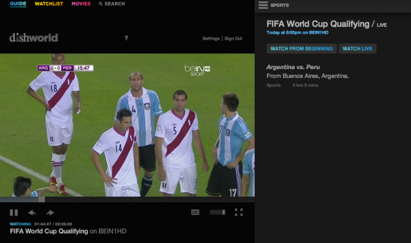 soccer games dishworld 600x355 DishWorld Product Review; Watch beIN SPORT Online Without TV Subscription