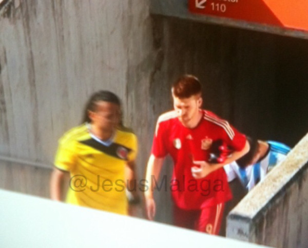 spain home shirt Spain Home Shirt For World Cup 2014: Leaked [PHOTOS]