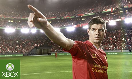 steven gerrard xbox one Liverpool Midfielder Steven Gerrard Stars In Commercial For Xbox One [VIDEO]