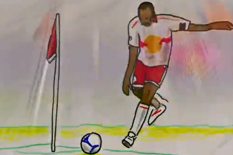 thierry henry flipbook Thierry Henrys Most Memorable New York Red Bulls Moments Captured in a Flipbook [VIDEO]