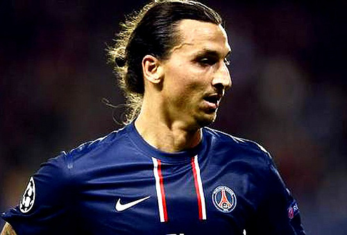 zlatan ibrahimovic1 Competition from Edinson Cavani Pushes Zlatan Ibrahimovic Towards His Best
