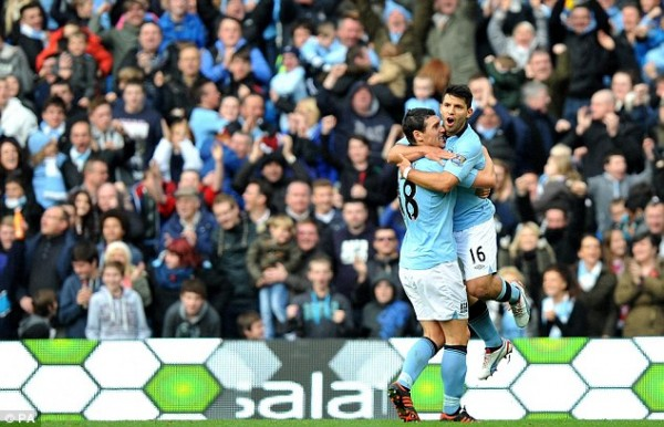 Aguero Spurs 600x386 The Top 5 Must See Soccer Matches On Television and Internet This Weekend