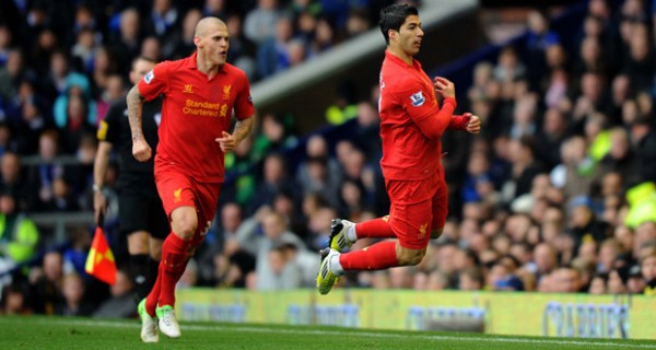 Luis Suarez Celebration 600x320 The Top 5 Must See Soccer Matches On Television and Internet This Weekend
