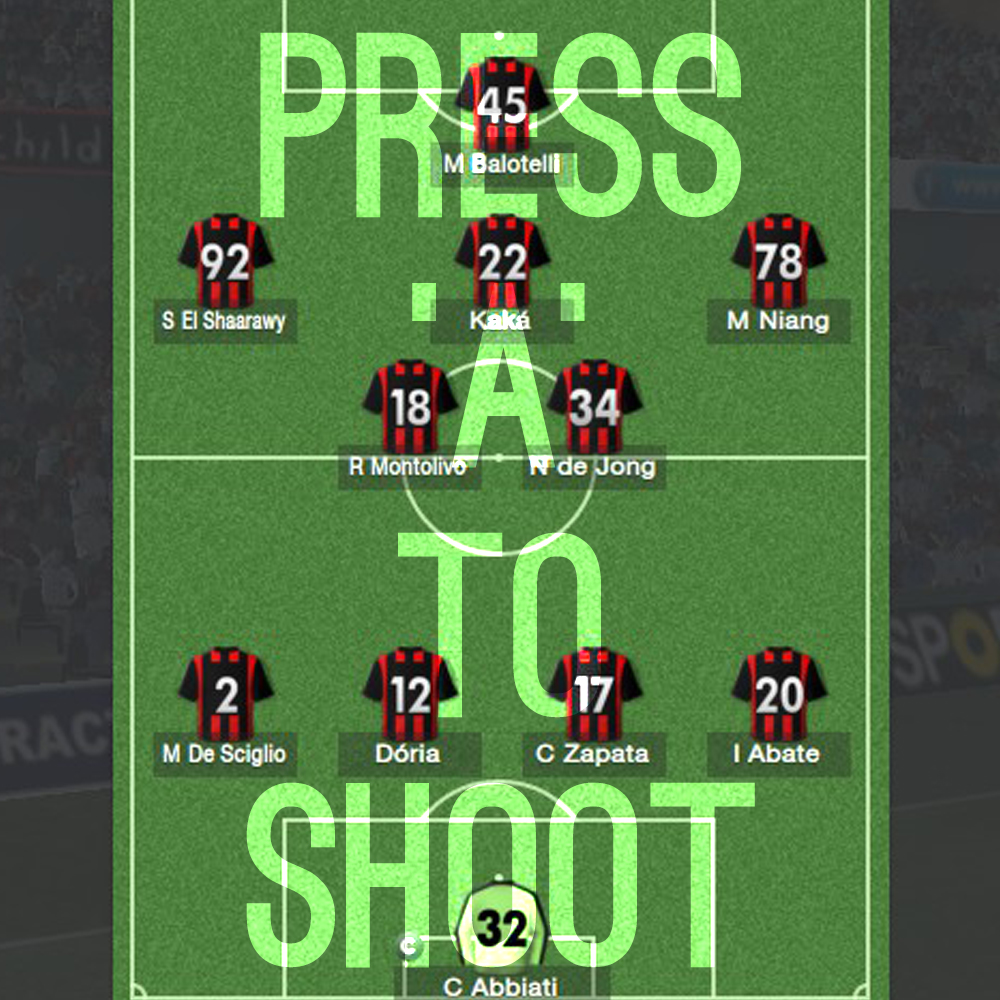 Press 'A' To Shoot – Football Manager Review