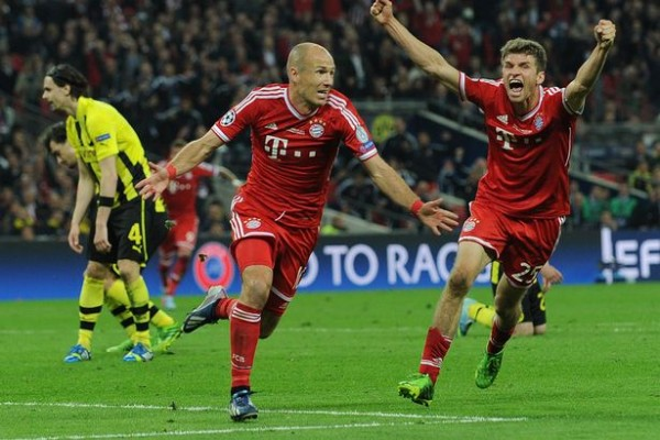 Robben Goal 600x400 The Top 5 Must See Soccer Matches On Television and Internet This Weekend