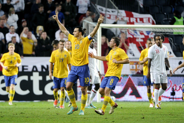 ZLATAN Zlatan Ibrahimovic Wins 2013 FIFA Puskas Award For This Goal Against England [VIDEO]