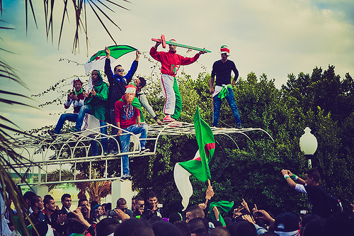 algeria fans Algeria: 12 Die During Celebrations of World Cup Qualifier Victory: Daily Soccer Report