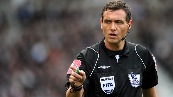 andre marriner 600x337 Referee Andre Marriner Faces Being Dropped After Failure to Spot Ramires Dive: Nightly Soccer Report