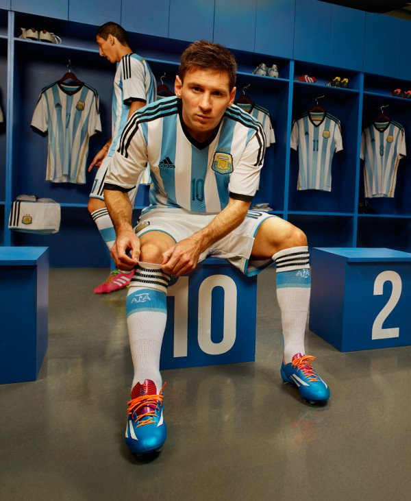 argentina world cup shirt messi 600x731 Where to Buy the Argentina World Cup Shirt For Brazil 2014