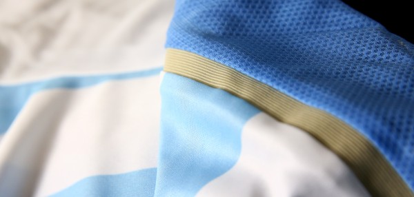 argentina world cup shirt seam 600x286 Where to Buy the Argentina World Cup Shirt For Brazil 2014