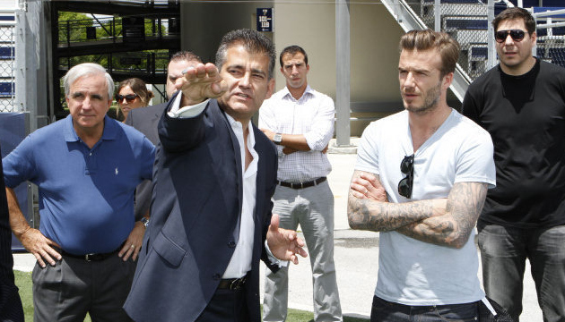 beckham fiu miami David Beckham Plans to Build 75,000 Seater Stadium in Miami For His MLS Team