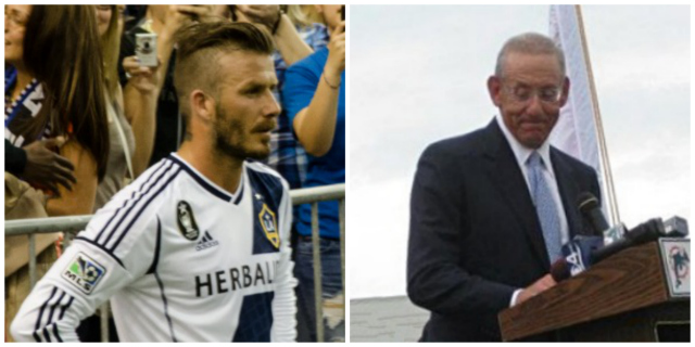 beckham ross collage Stephen Ross Cools On Owning Piece of Beckham Miami MLS Team, Says Sources: Monday Soccer Insider