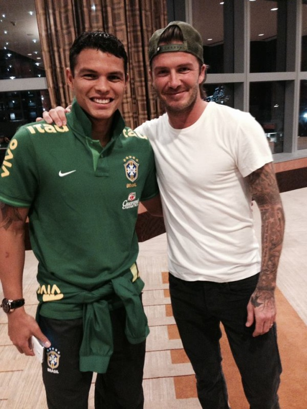 beckham thiago 600x800 David Beckham Is In Miami, Hanging Out With Neymar, David Luiz and Lucas Leiva [PHOTOS]