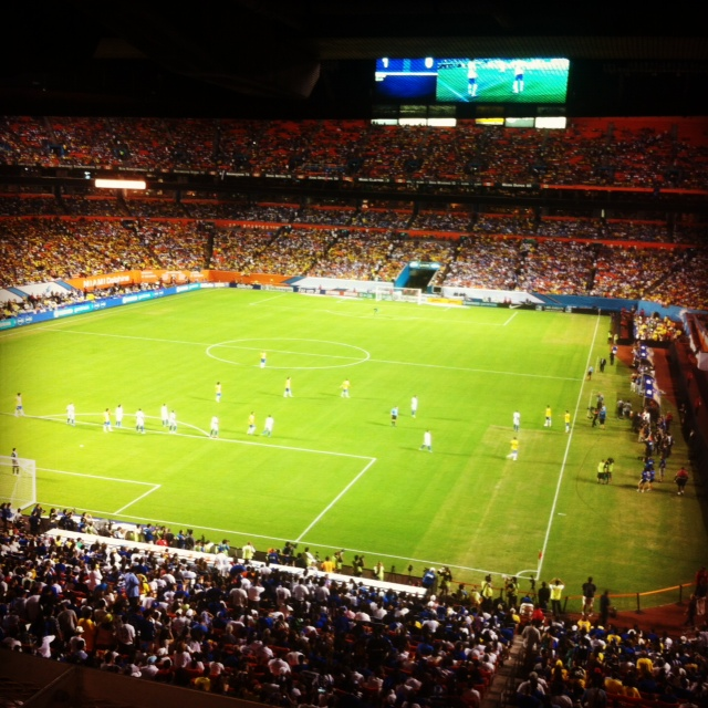 brazil honduras Brazil Trounces Honduras 5 0 In International Friendly In Front of Record Miami Crowd