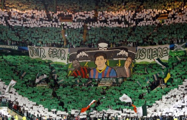 celtic tifo 600x384 Celtic Park Is Set To Rock For One More European Night