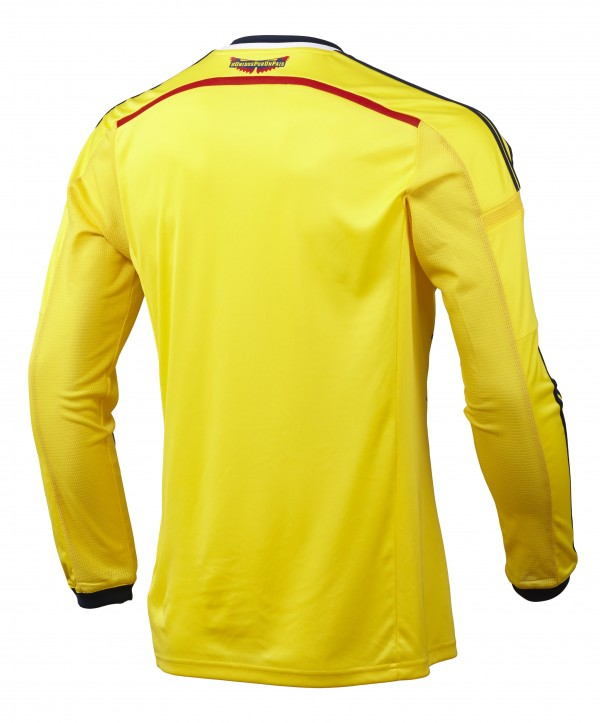 colombia world cup shirt back 600x723 Where to Buy the Colombia World Cup Shirt From adidas: Official [PHOTOS]