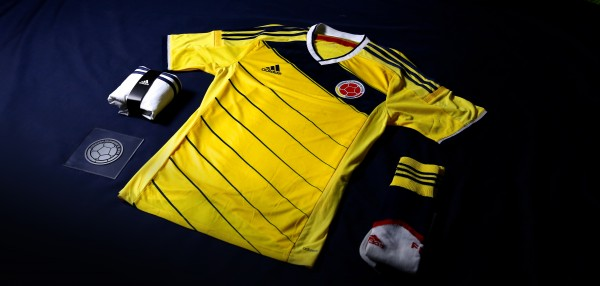 colombia world cup shirt collection 600x286 Where to Buy the Colombia World Cup Shirt From adidas: Official [PHOTOS]