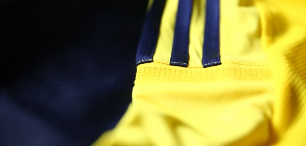 colombia world cup shirt stripes 600x286 Where to Buy the Colombia World Cup Shirt From adidas: Official [PHOTOS]