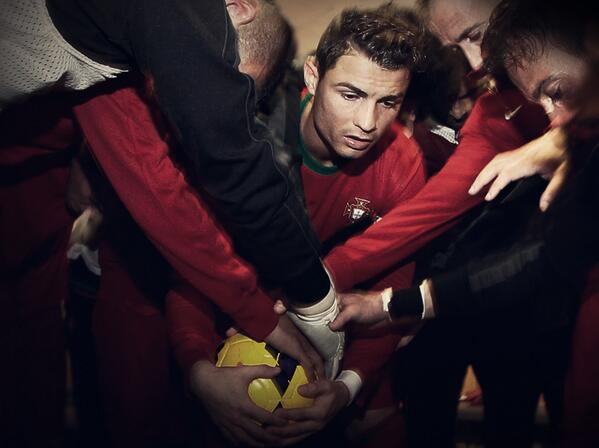 cristiano ronaldo1 World Cup Playoffs Recap: Whos Going to Brazil and Whos Staying Home [GIF]