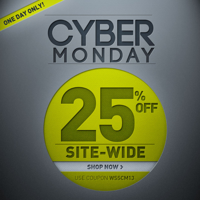 cyber monday sale Cyber Monday Sale: Get 25% Off Your Soccer Merchandise Orders at World Soccer Shop: Promo Code