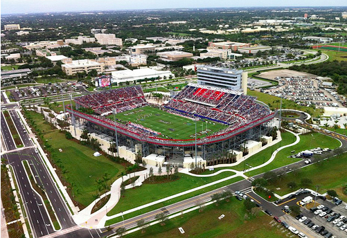 fau stadium 8 Stadium Options for David Beckhams Miami MLS Team