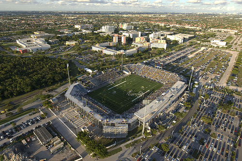 fiu stadium 8 Stadium Options for David Beckhams Miami MLS Team