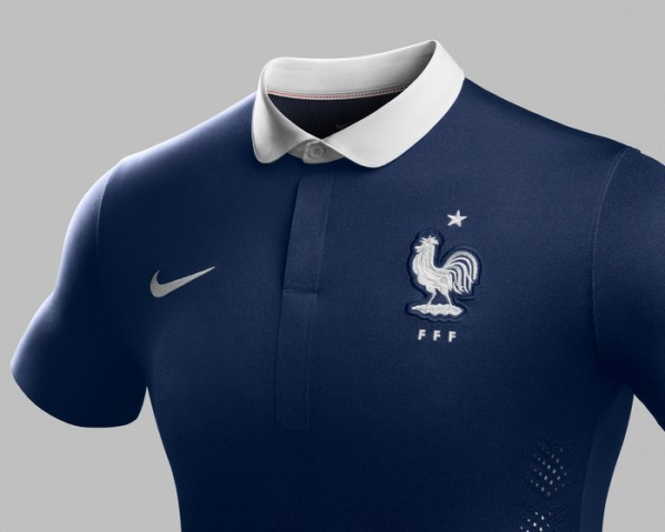 france world cup shirt cropped new 600x480 Leaked Photos of World Cup Shirts That The 32 Teams Will Wear In Brazil