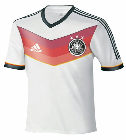 germany home shirt 2014 world cup Germany Home Shirt for 2014 World Cup In Brazil: Leaked [PHOTO]
