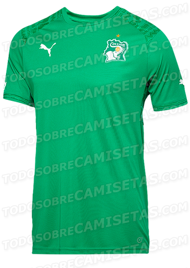 ivory coast away shirt world cup Ivory Coast Home And Away Shirts For World Cup 2014: Leaked [PHOTOS]