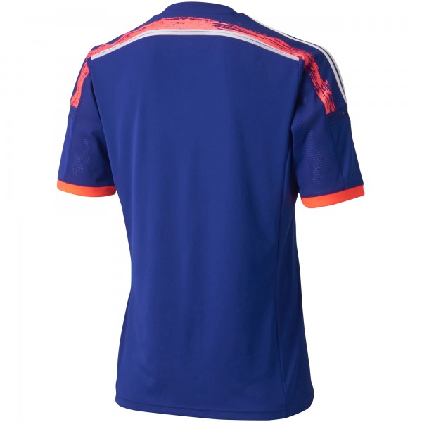 japan world cup shirt back 600x600 Japan World Cup Shirt For 2014 Tournament In Brazil From adidas: Official [PHOTOS]